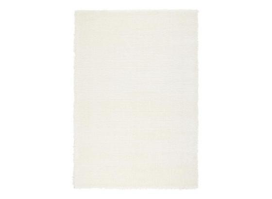 Koberec S Vysokým Vlasem Florenz 1 - bílá, Moderní, textil (80/150cm) - Mömax modern living