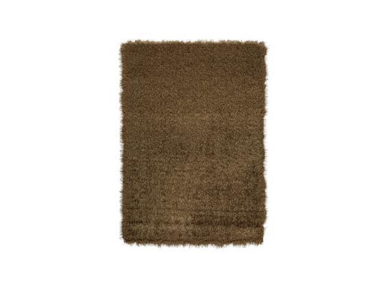 Hochflorteppich Glossy - Beige, Basics, Textil (160/230cm) - Luca Bessoni