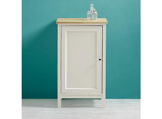 Spodná Skrinka Jule - biela, Moderný, kov/drevo (40/68/38cm) - Modern Living