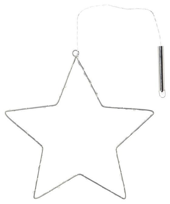 Dekostern Ø 55 cm - Silberfarben, MODERN, Metall (55/55cm)