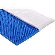 Topper Start H2 90x200 - Weiß, KONVENTIONELL, Textil (90/200cm) - Primatex