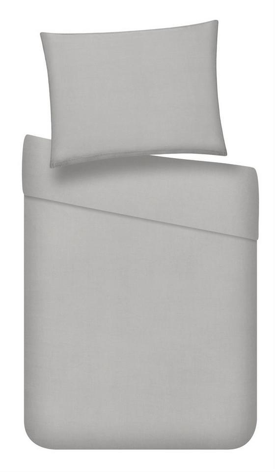 Povlečení Stone Washed Uni Ca. 140x200cm - světle šedá, Romantický / Rustikální, textil (140/200cm) - Mömax modern living