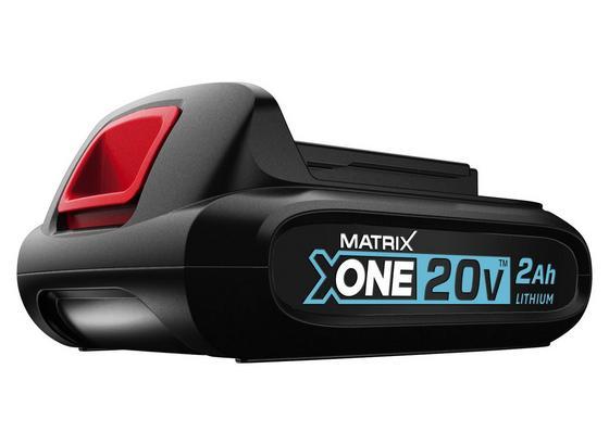 Ersatzakku Matrix X-One-B2 - 20 V - Schwarz, Kunststoff (8/5,5/12,5cm) - Matrix