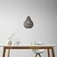 Závesná Lampa Jade - sivá, Romantický / Vidiecky, prírodné materiály (30/147cm) - Mömax modern living