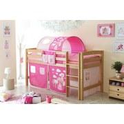 Tunnelset Rosa/Pink Pferd B: 100cm - Pink/Rosa, KONVENTIONELL, Textil/Metall (100/73/87cm) - Livetastic