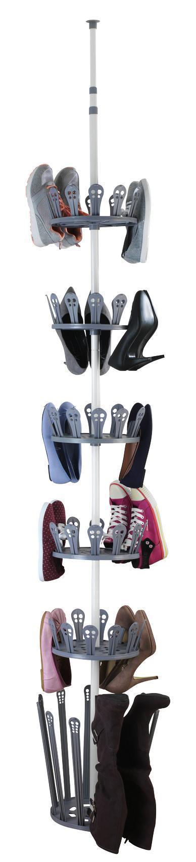 Höhenverstellbares Schuhregal aus Metall kaufen