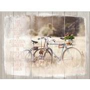 Keilrahmenbild Weißheit Nr. 2 - Multicolor, MODERN, Holzwerkstoff (57/77cm)