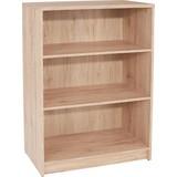 Regál 4-you Yur02 - barvy dubu, Moderní, dřevěný materiál (74/111,4/34,6cm)