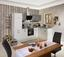 Küchenleerblock Bozen 280x172cm Weiß/betonopt. - Weiß/Grau, KONVENTIONELL, Holzwerkstoff (280/172cm)