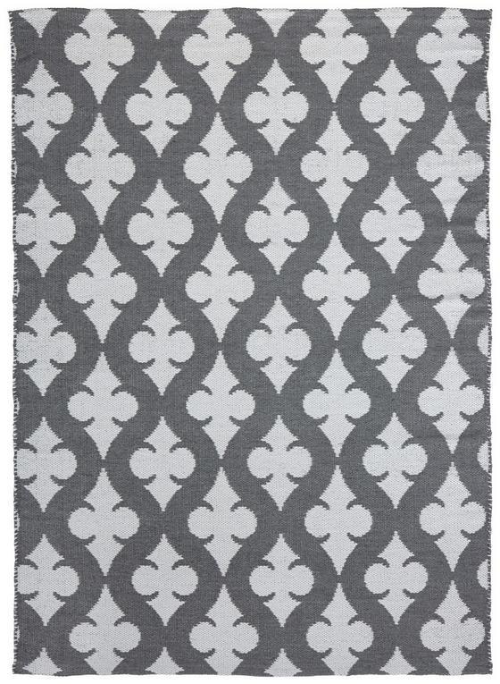 Koberec Pre Exteriér Club - sivá/biela, Moderný, textil (120/170cm) - Mömax modern living