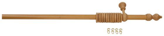 Rúdkarnis Garnitúra Fa - tölgy színű, konvencionális, fa (140cm)