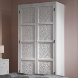 Šatná Skriňa Valentina - biela/farby pínie, Moderný, drevo (95/190/48cm) - Modern Living