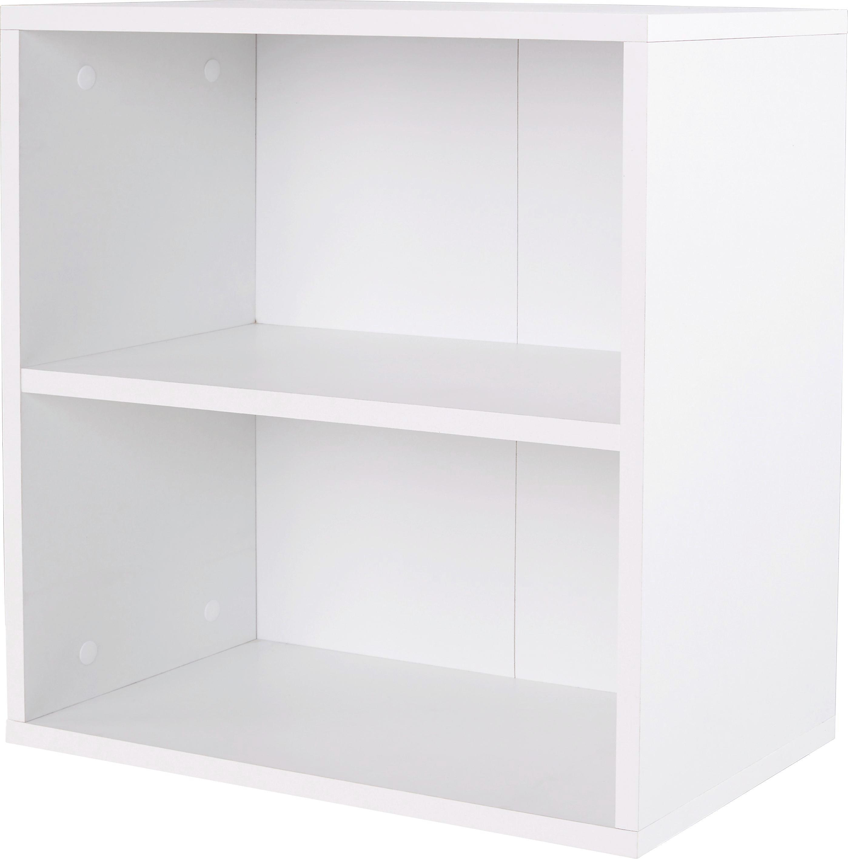 FALIPOLC ELKE - fehér, modern, faanyagok (50/50/26cm)