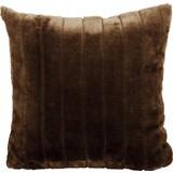 Zierkissen Emma 45x45 cm - Braun, KONVENTIONELL, Textil (45/45cm) - Ombra