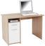 Písací Stôl Palermo - biela/dub sonoma, Moderný, kompozitné drevo (110/74/60cm)