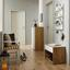 Komoda Na Boty Basic 2 - bílá/barvy dubu, Moderní, dřevo (80/109/40cm) - Modern Living