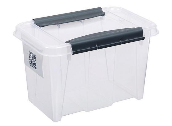 Uskladňovací Box Chaos - transparentné, Moderný, plast (29/19,5/18,5cm)