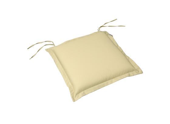 Gartensitzkissenset Premium T: 50 cm Beige - Beige, Basics, Textil (50/8-9/50cm) - Ambia Garden