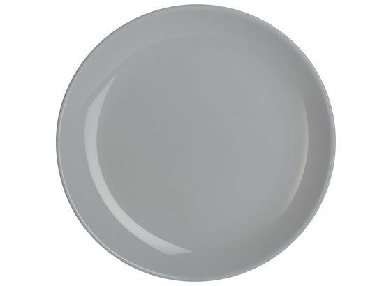 Talíř Dezertní Alexis - šedá, Romantický / Rustikální, sklo (19cm) - Mömax modern living