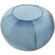 Hocker D: 60 cm Samt Blau - Blau, Basics, Textil (60/35cm)