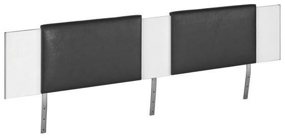 Záhlavní Čalounění Belia - černá, Konvenční, textil (60/38.4/3.8cm)