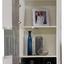 Obývacia Stena Vulcan - sivá/biela, Moderný, kompozitné drevo (265-295/194/40cm)