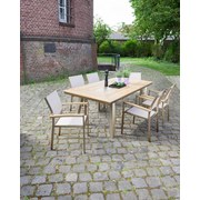 Greemotion Greemotion Gartenset Locarno   Silberfarben/Braun, MODERN,  Kunststoff/Textil   Greemotion