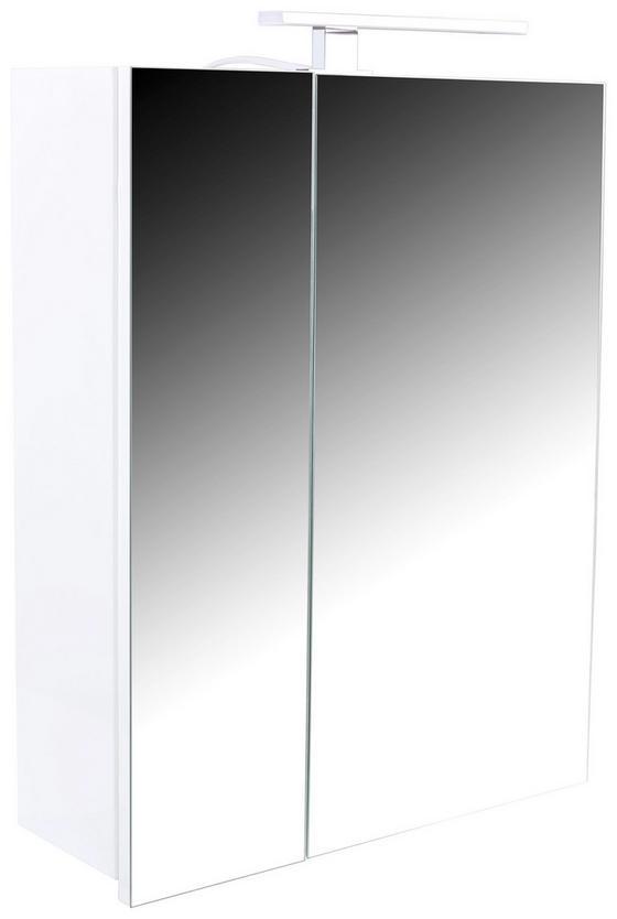 Spiegelschrank Tress I - Weiß, KONVENTIONELL, Holzwerkstoff (60/70/17cm)
