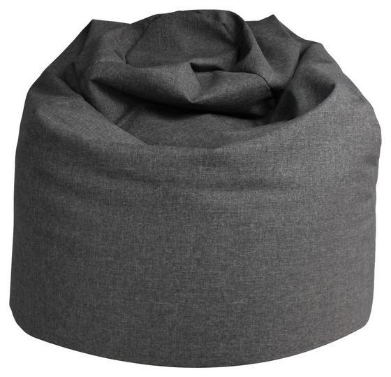 Sitzsack Buzz Soft Grau - Grau, MODERN, Textil (85/120/85cm)