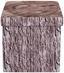 Sitzbox Woody 38cm Holzoptik - Schwarz/Braun, MODERN, Holzwerkstoff/Textil (38/38/38cm)