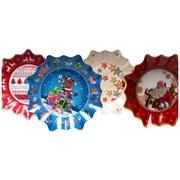 Pappteller Weihnachten - Multicolor, Basics, Papier (27/4cm)