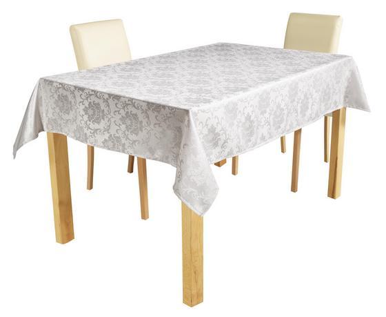 Tischdecke Romana - Beige, KONVENTIONELL, Textil - Ombra