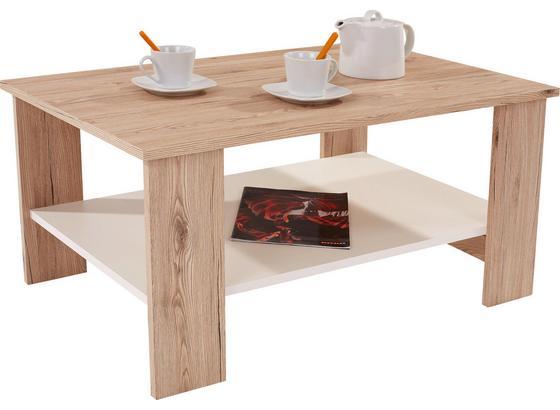 couchtisch san remo dekor paolo mit ablagefach in wei online kaufen m belix. Black Bedroom Furniture Sets. Home Design Ideas