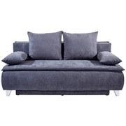 Boxspringsofa Marlene - Grau, MODERN, Holz/Textil (208/100/106cm) - Luca Bessoni