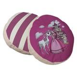 Zierkissen 2-er Set D: 40cm - Pink, KONVENTIONELL, Textil (40cm) - Livetastic