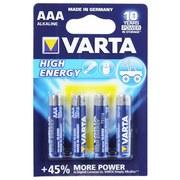 Batterie Aaa High Energy 4 Stück - VARTA