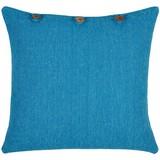 Zierkissen Nari - Blau, MODERN, Textil (45/45cm) - Luca Bessoni
