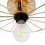 Stropní Svítidlo Nevio Ø 30cm, 60 Watt - barvy zlata, Lifestyle, kov (9/30cm) - Modern Living