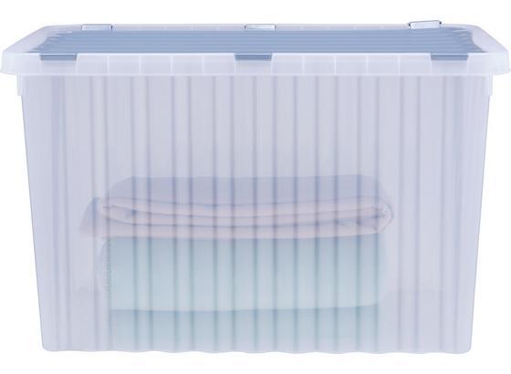Box S Víkem Vito - modrá/růžová, umělá hmota (60/40/36cm)