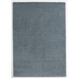 Hochflor Teppich Blau Soft 160x230 cm - Blau, MODERN, Textil (160/230cm)