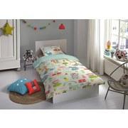 Bettwäsche Holiday 140/200cm Multicolor - Multicolor, Basics, Textil