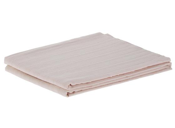 Prehoz Solid One -ext- - staroružová, textil (140/210cm)