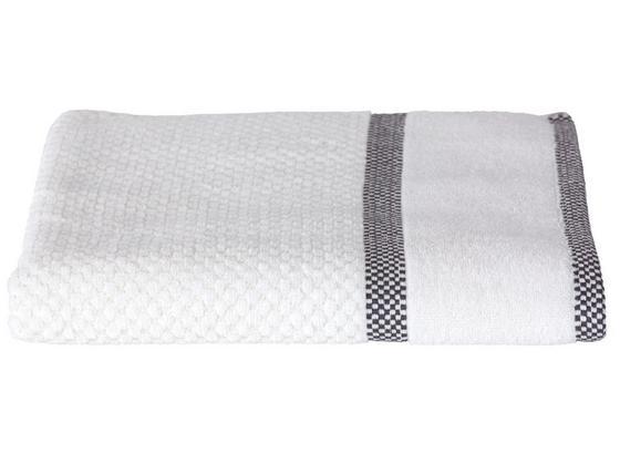 Duschtuch Rocky - Weiß, ROMANTIK / LANDHAUS, Textil (70/140cm) - James Wood