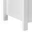 Šatní Lavice Len - bílá, Moderní, dřevo (87/48/38cm) - Modern Living
