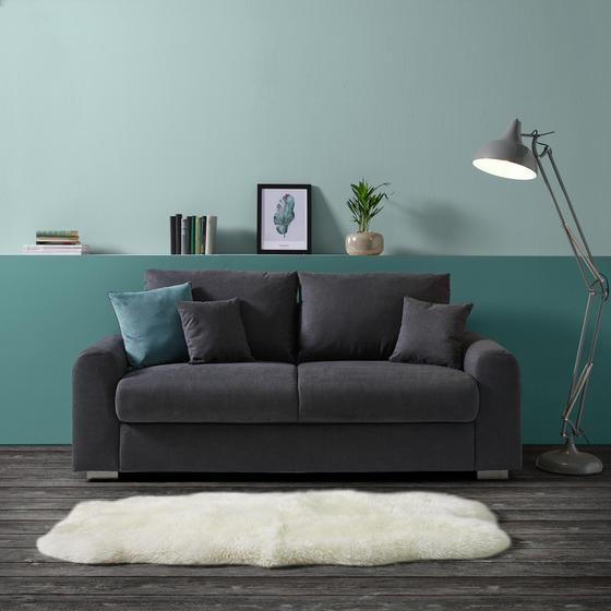 Pohovka Gerrard - sivá, Moderný, drevo/textil (203/89/85cm) - Mömax modern living