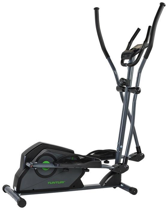 Crosstrainer Cardio Fit C30 - Schwarz/Grau, MODERN, Kunststoff/Metall (60/163/124cm) - Tunturi