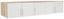 Nadstavec Na Skriňu Ku 5 Dv.skrini Wien - farby dubu/biela, Konvenčný, drevený materiál (226/39/54cm)