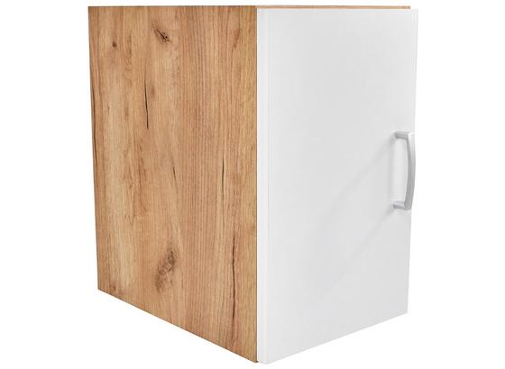 Nadstavec Na Skriňu Tio - farby dubu/biela, Konvenčný, kompozitné drevo (30/43/37,5cm)