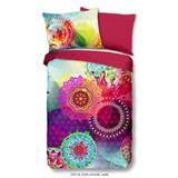 Bettwäsche Esplanad 140/200cm Pink/Multicolor - Pink/Multicolor, Basics, Textil
