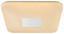 Led Stropná Lampa Betty - biela, Moderný, umelá hmota/kov (43,5/43,5/6,5cm) - MÖMAX modern living